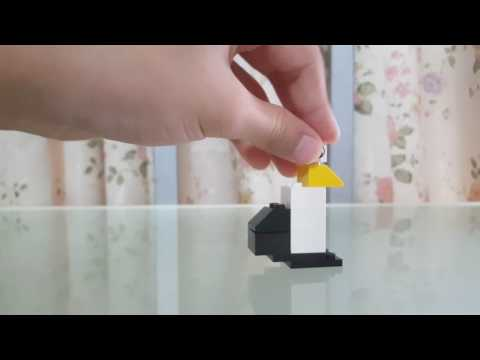 How to make a lego penguin easy