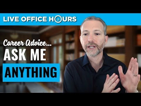 Ask Me Anything: Live Office Hours: Andrew LaCivita