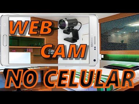 Como usar celular android como uma WebCam no SKYPE [RÁPIDO]