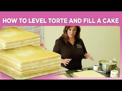 How to Level Torte and Fill a Cake