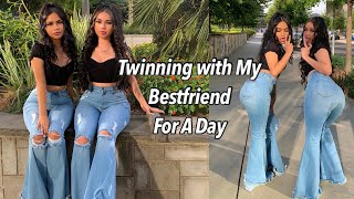 GRWM : Twinning with My Bestfriend For A Day / Vlog ✨💘