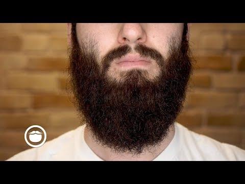 How to Straighten a Wild Curly Beard | YEARD WEEK 21