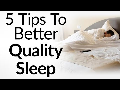 5 Tips To Get Better Quality Sleep | Hibernate Like A King | Wake Up Feeling Refreshed