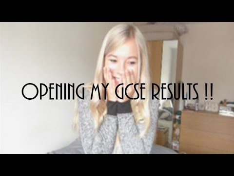 OPENING MY GCSE RESULTS | 2016