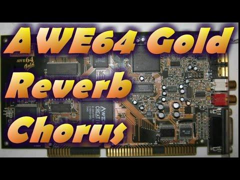 Sound Blaster AWE64 Gold Reverb and Chorus