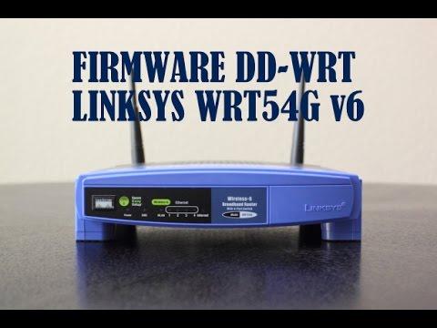 Instalar firmware DD-WRT en Router Linksys WRT54G v5. / v5.1 /  v6.