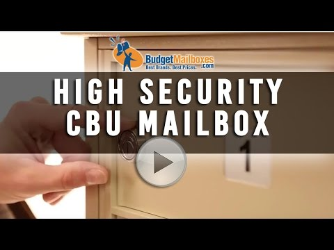 Florence Manufacturing | High Security CBU Mailbox | Budget Mailboxes