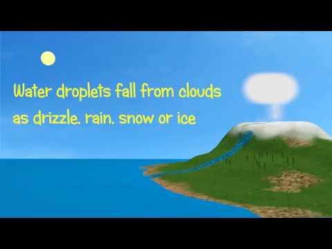 Water cycle -  Hidrologic -  Animation