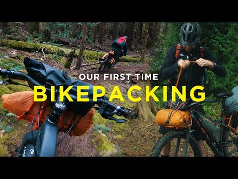 Our First Time Bikepacking