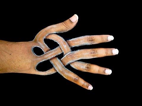 Hand Art - Amazing Hand Drawing Illusion