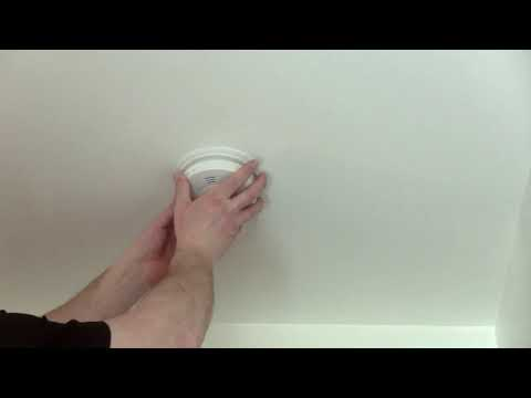 Fire and Carbon Monoxide Detector Installation