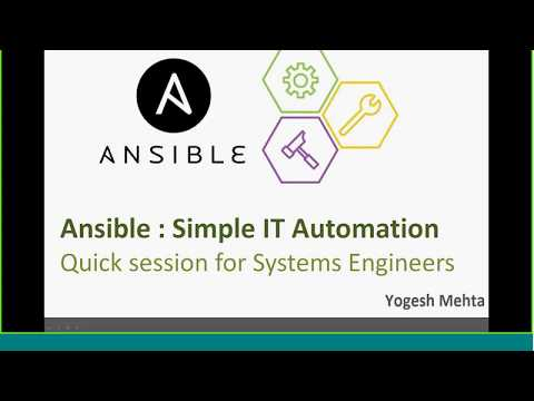 Ansible Online Training  - Part 2