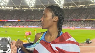 WCH 2017 London–Ajee Wilson USA 800 Metres Bronze