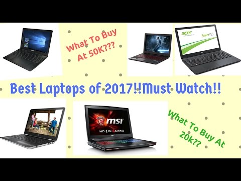 Best Laptops in India for 2017 in hindi under different budgets!!!!