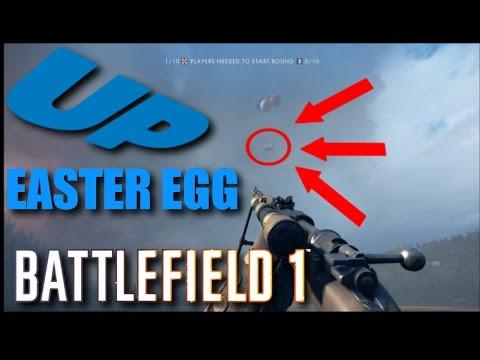 Battlefield 1 Floating House Easter Egg! Verdun Heights - BF1 UP
