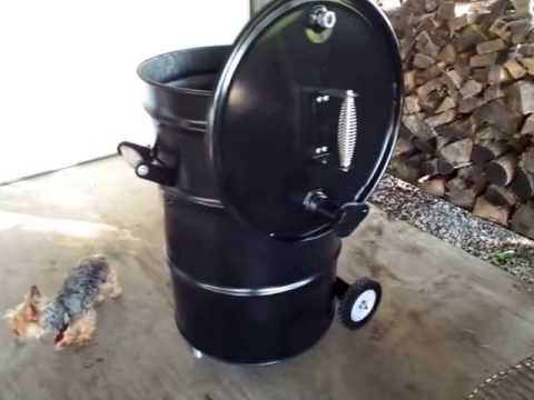 Ugly Drum Smoker Build