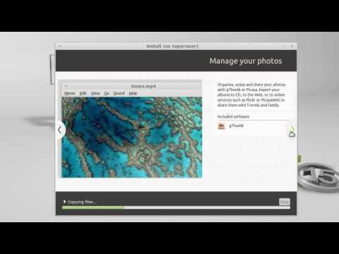 Install Linux Mint 15 Olivia