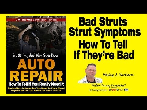 Shocks and Struts | How to Tell if They are Bad | Noise | Auto Repair | Symptoms | Strut|Strut Mount