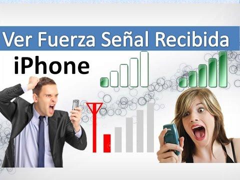 Medir la intensidad de la señal iPhone - Parte 2
