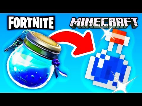 Fortnite IN Minecraft?