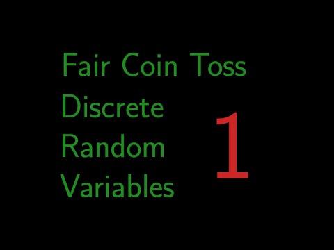 Fair Coin Toss | Probability in R: Discrete Random Variables