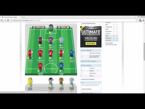 *UPDATE* Fantasy Premier League Team 2014/2015 Season