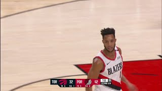 2nd Quarter, One Box Video: Portland Trail Blazers vs. Toronto Raptors