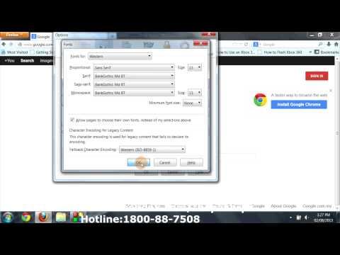 Mozilla Firefox-How To Install Fonts