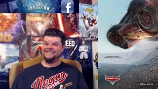 """Cars 3"" Trailer ""Lightning Strikes"" Extended Look Reaction Review"