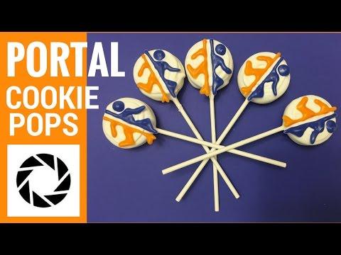 Portal Oreo Cookie Pops
