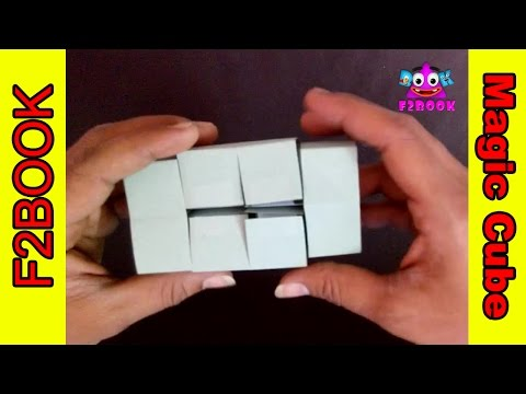 How To Make Paper Fold Magic Cubes Easy