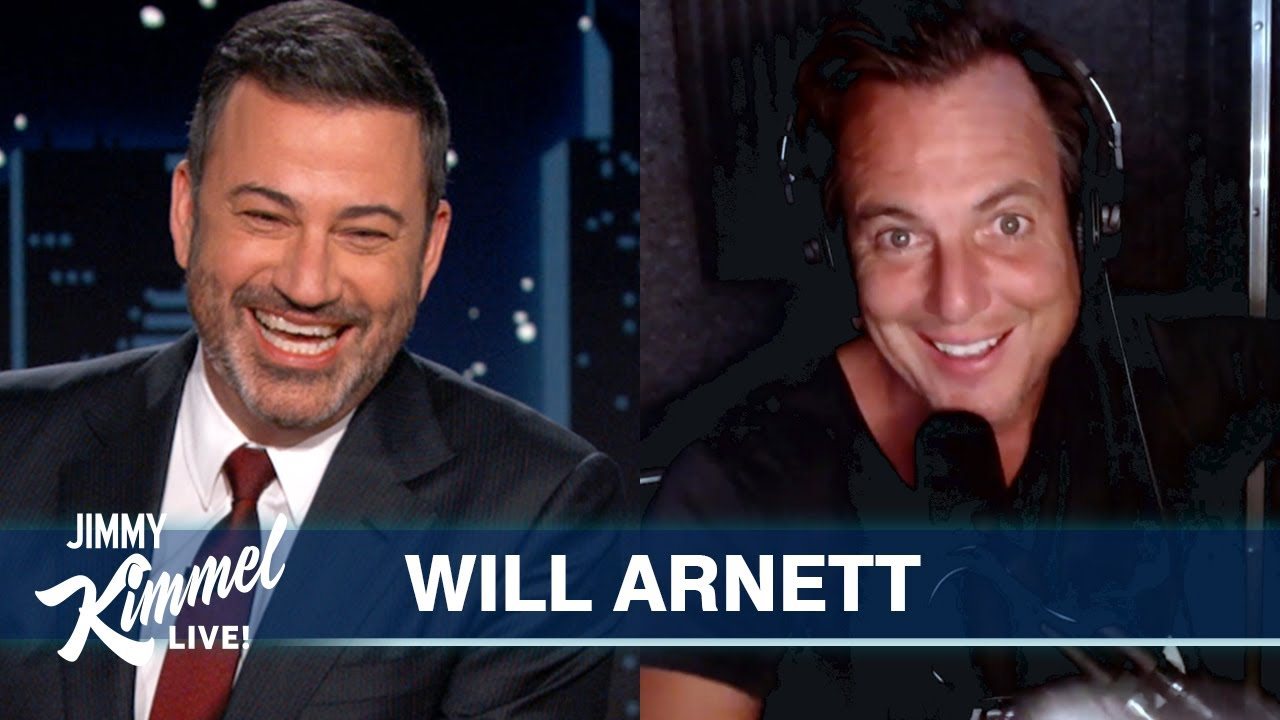 Will Arnett Saves the Day After Jason Bateman Bails on Jimmy Kimmel