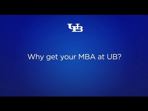 Why get your MBA at the University at Buffalo?