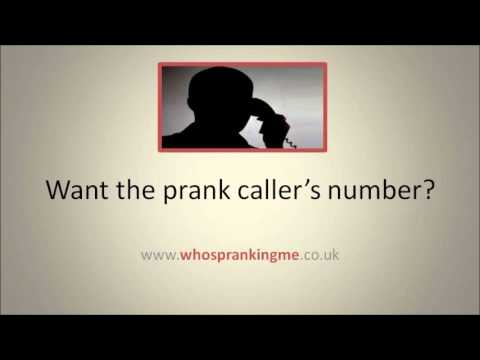 How to find a Prank Caller's phone number! Get your own back