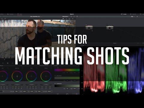Tips For Matching Shots - DaVinci Resolve Color Correction Tutorial