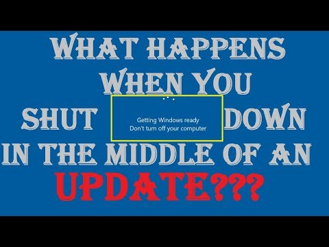 What Happens When You Turn Off Your PC While Updating? Windows 10 ;)