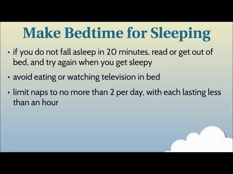 Cancer symptom management: sleep trouble