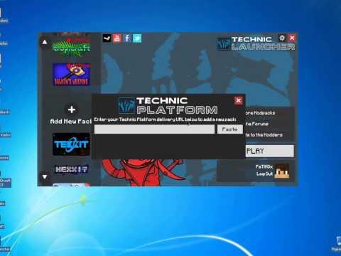 Technic Launcher Minecraft installation