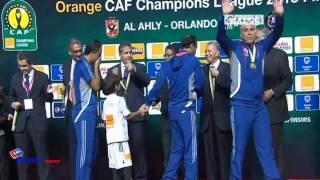 لحظات تتويج الأهلي المصري بطل دوري أبطال أفريقيا (2013/11/10)