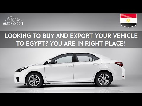 Shipping cars from USA to Egypt - Auto4Export