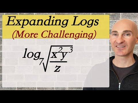 Logs How to Expand (More Challenging Examples)