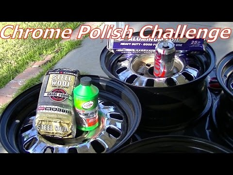 Chrome Rust Removal & Polish- Coke vs. Turtle Wax Mustang Connection