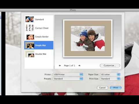 iPhoto09: C05 Print Your Photos at Home CC