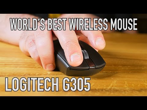 Logitech G305 Wireless Gaming Mouse: Lightspeed, Hero Sensor, $59 Insanity
