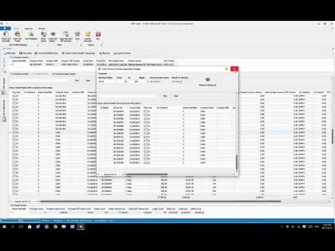 ZenFlex GAF Viewer - HowTo quickly identify missing serial number among tax invoices or cash bills.