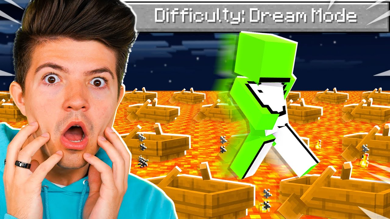 """So I Added """"Dream"""" Mode Difficulty in Minecraft.."""