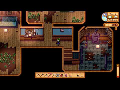 Where is the Boiler Room in community center - Stardew Valley