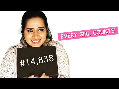 #GirlsCount - Every Girl Has The Right To  Education   International Day of the Girl