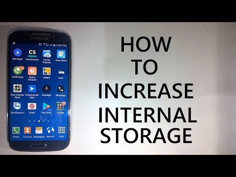How to Increase Internal Storage Space of Android device By setting SD card as a default  location