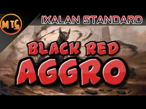 Black Red Aggro in Ixalan Standard! Budget Deck Tech ($40)!